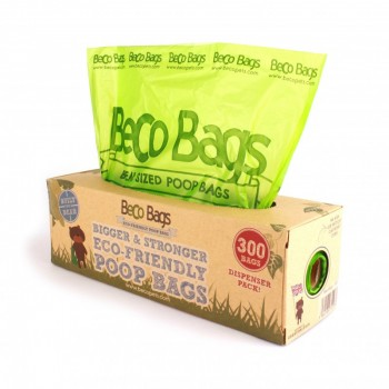 Bolsas degradables BecoBags dispensador 300 bolsas